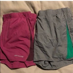 Set of 2 Patagonia Running Shorts